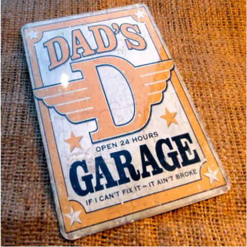 Dads Garage Sign