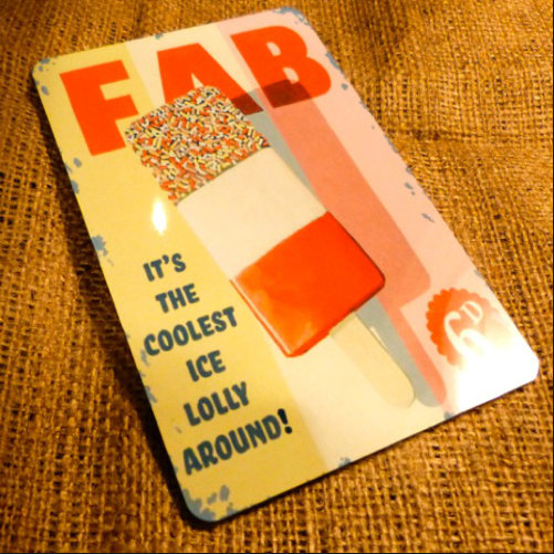 Fab Lolly Vintage Style Sign