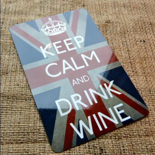 Keep Calm Drink Wine