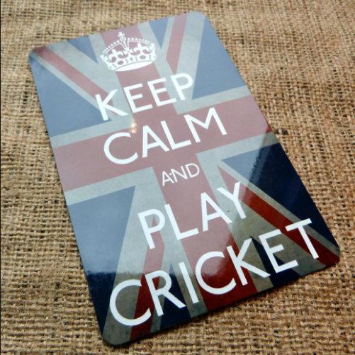 Keep Calm Play Cricket