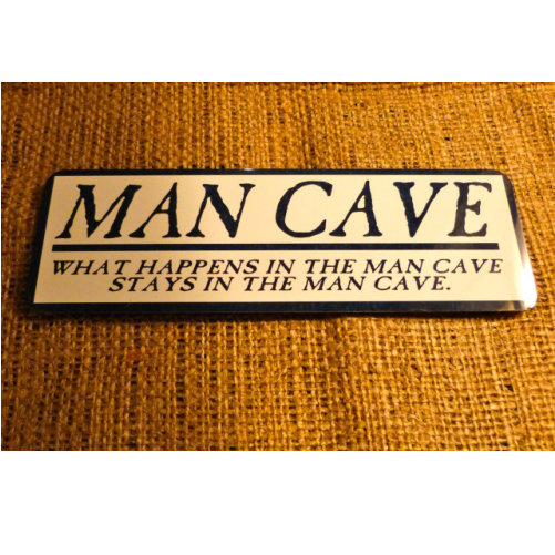 Man Cave Novelty Sign