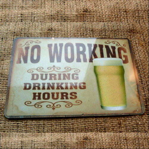 No Working During Working Hours