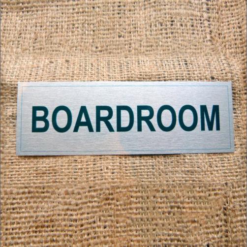 Board Room Sign