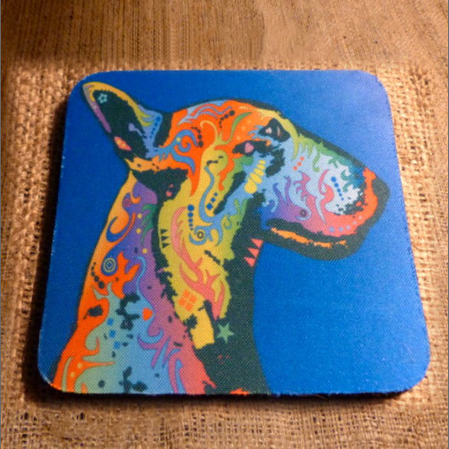 English Terrior Drinks Coaster