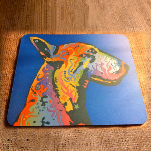 English Terrier Mouse Mat