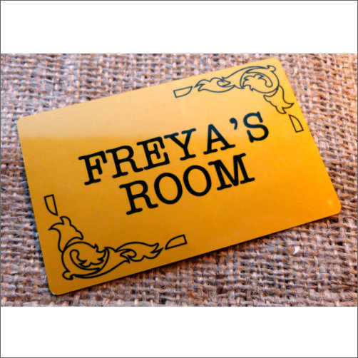 Freyas Room Sign