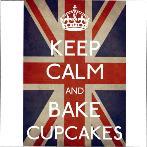 Keep Calm Bake Cupcakes