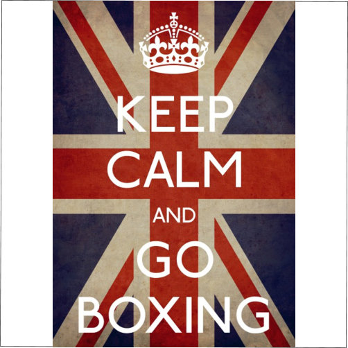 Keep Calm Go Boxing