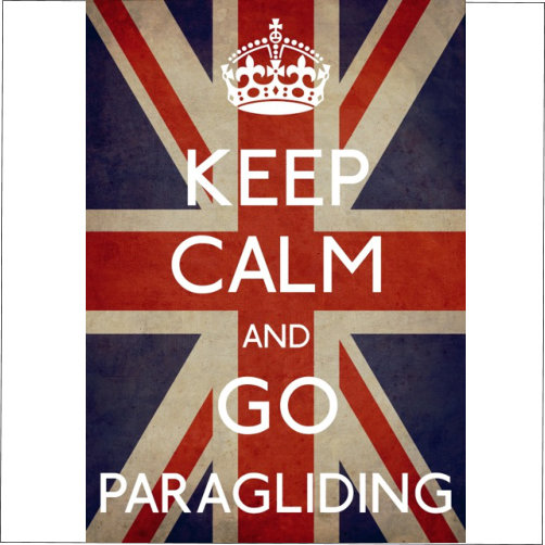 Keep Calm Go Paragliding