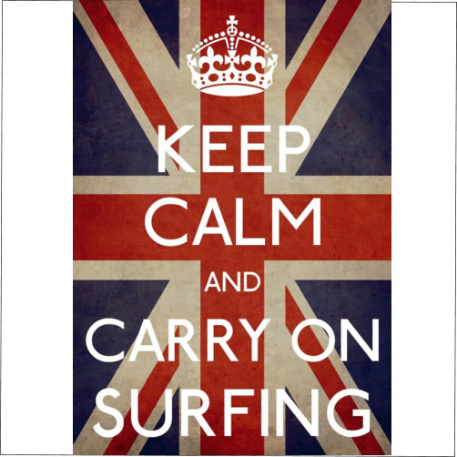 Keep Calm Surfing