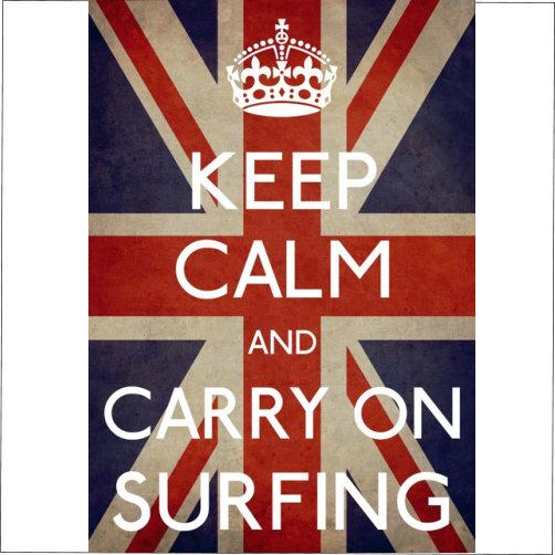 Keep Calm Surfing