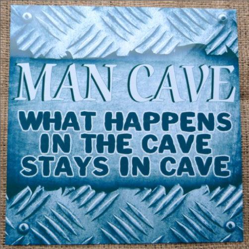 Man Cave Blue