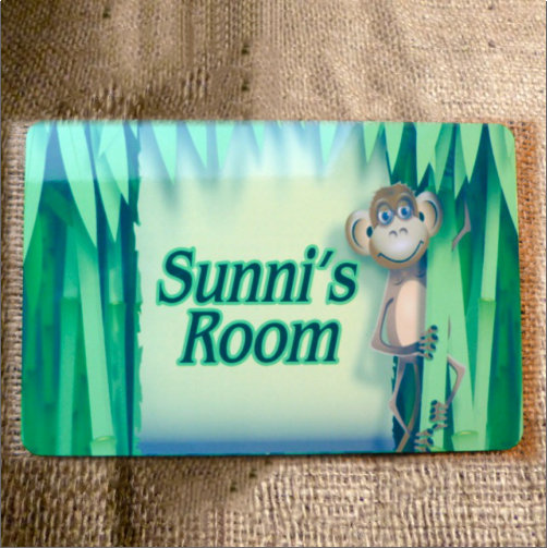 Kids Novelty Bedroom Sign