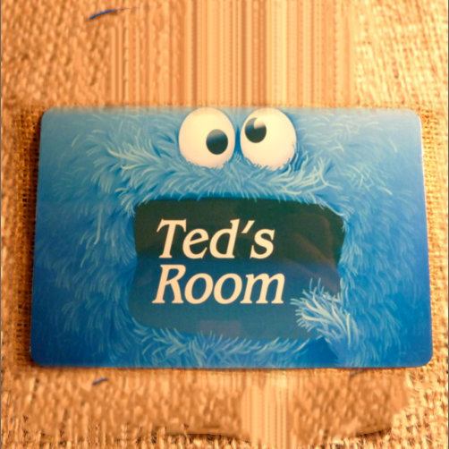 Cross Eyes Kids Bedroom Sign