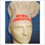 Chefs Hat Merry Christmas
